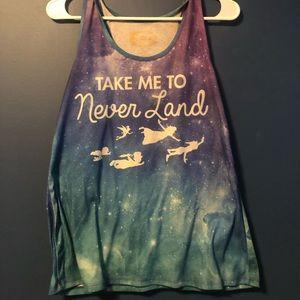 Peter Pan Neverland Tank